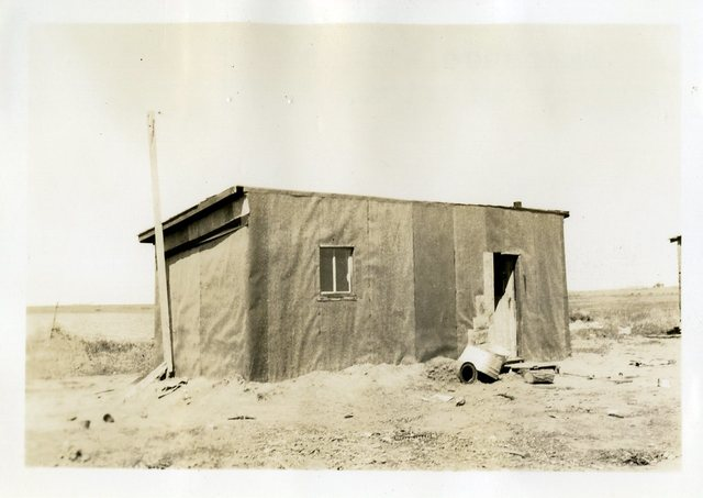 Before Reconstruction of Lawrence R. Wright's House