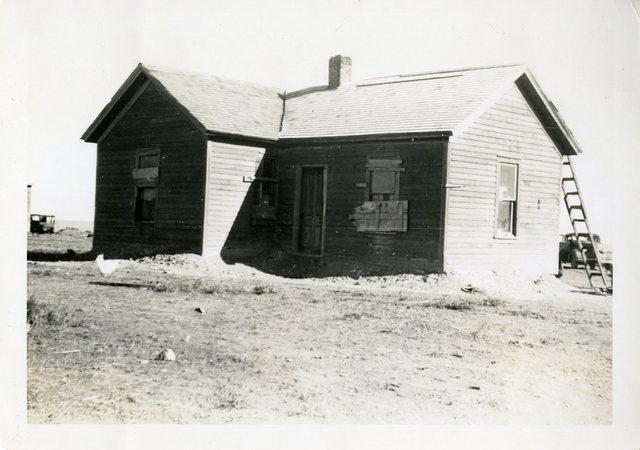 Before Repair of Chester Broken Leg's House