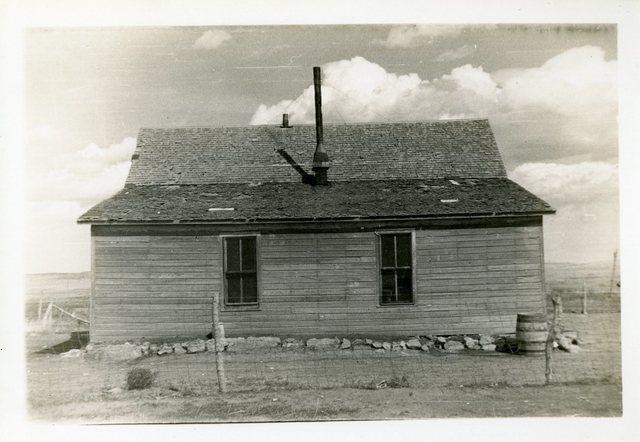 Before Repair of Eva Night Pipe's House