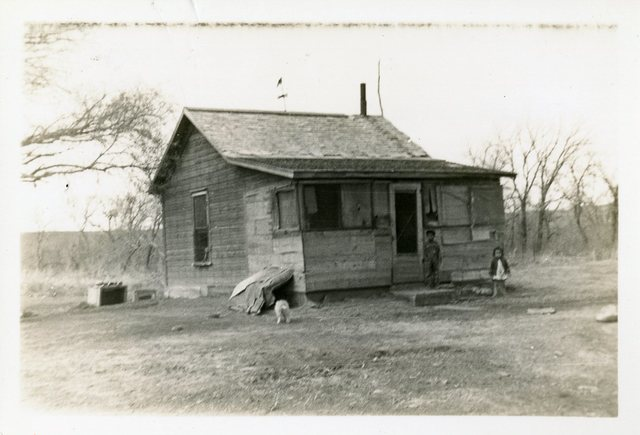 Before Repair of Grace Wright's House