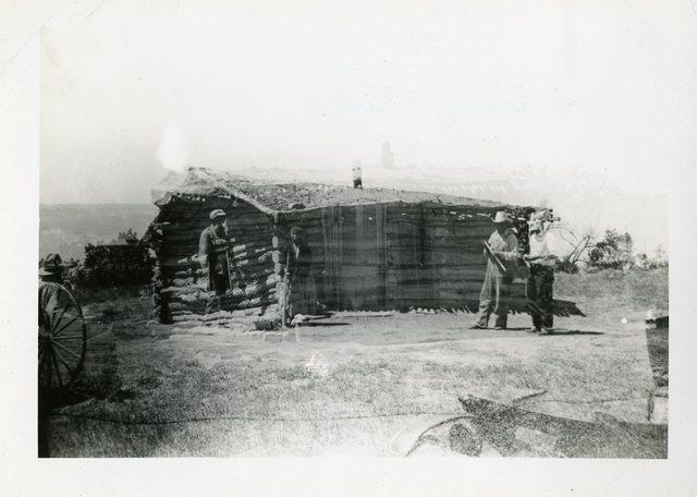 Before Repair of House of Charles Good Beaver