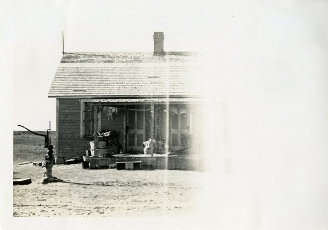 Before Repair of House of Isaac Bear Shield
