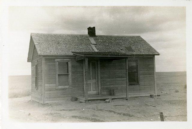 Before Repair of House of Lydia Lame Dog
