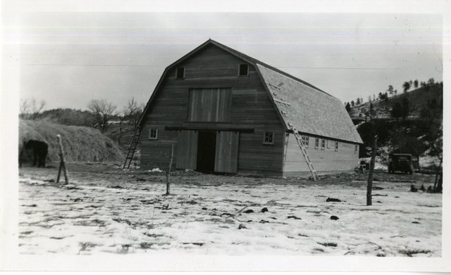 Community Barn at Grass Mountain Colony