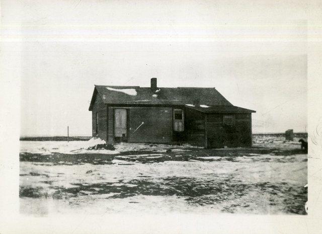 Ed McIlroy Unpainted Frame House