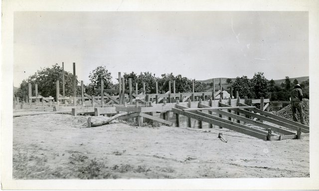 Farms in Place for a Concrete Foundation