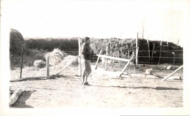 Haystacks and Shelter, Robert Jackson - Rehab Client