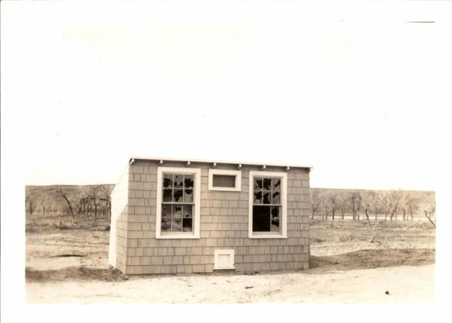 Hen House at Bad Nation Showing Damage