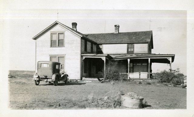 Large 1 1/2 Storey Semi-Painted House