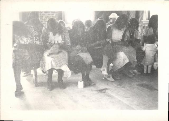 Soldier Creek Women Sewing