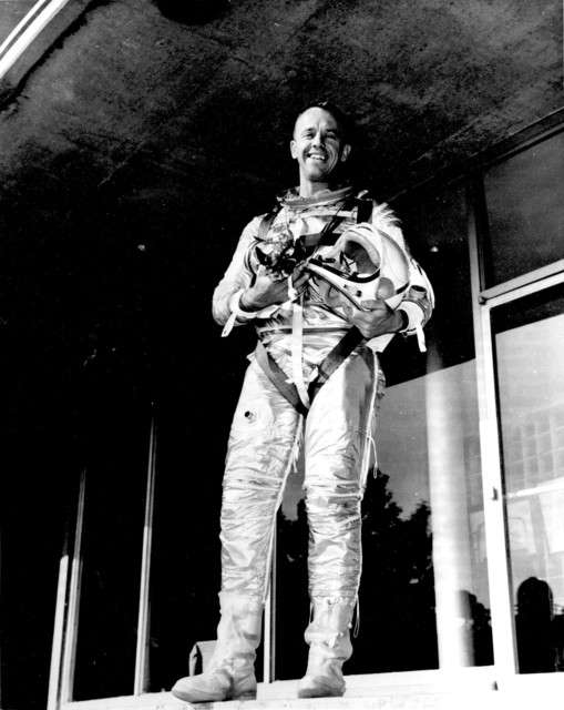 Photograph of Astronaut Alan E. Shepard, Jr.