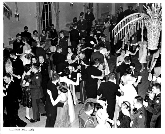 The Dance Floor at Yale University's Military Ball