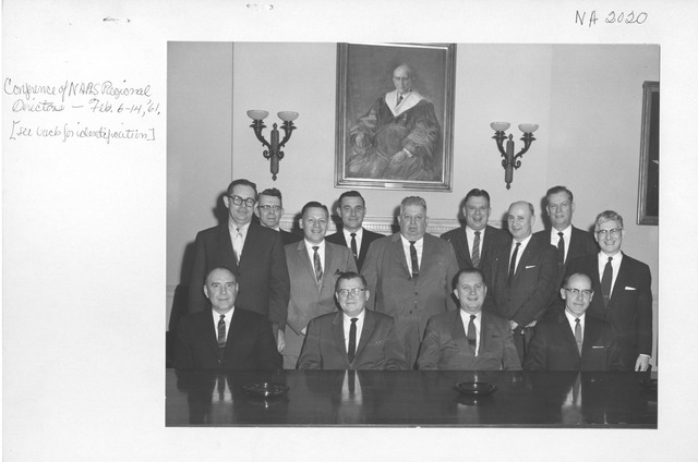 Photograph of Conference of National Archives and Records Service Regional Directors