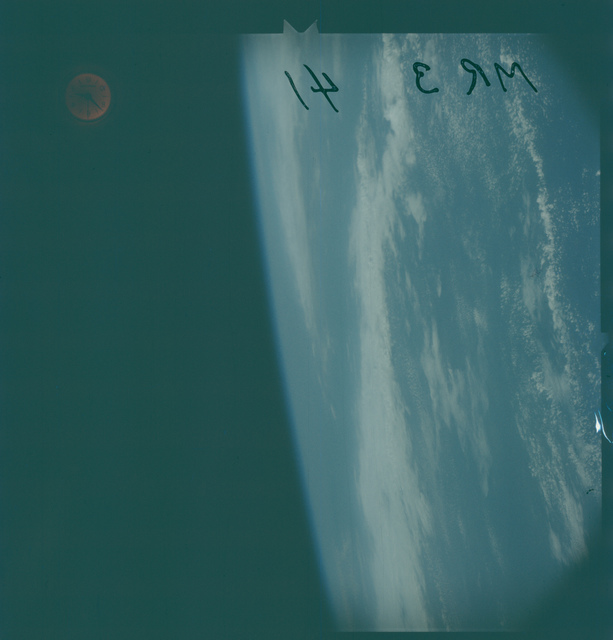 Mercury Redstone III flight - Earth Observations