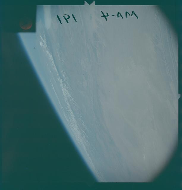 Mercury Atlas IV mission - Earth Observations