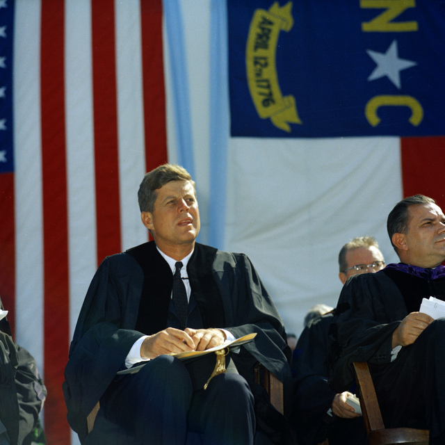 President John F. Kennedy Gives Speech at University of North Carolina, Chapel Hill