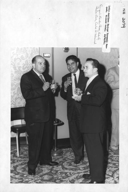Photograph of Latin American Seminar Farewell Banquet at the Willard Hotel