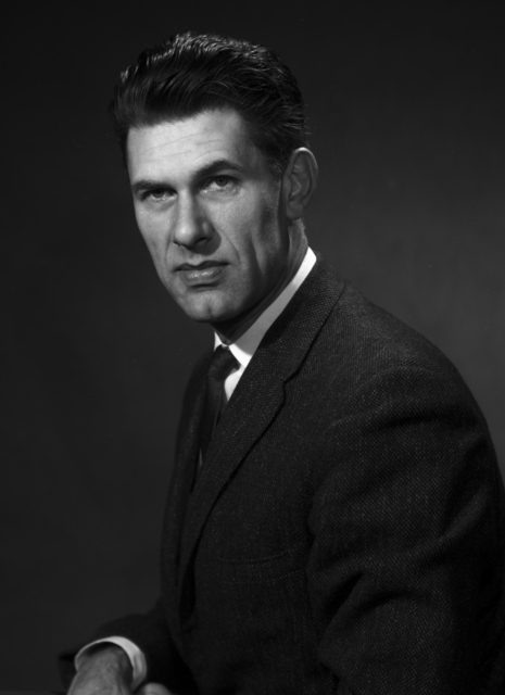 Portrait of Dr. David Judd, theoretical physicist. Photo taken November 14, 1961. Morgue 1961-24 (P-1) [Photographer: Donald Cooksey]