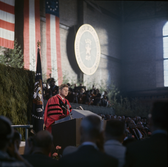 President John F. Kennedy Delivers Remarks at University of Washington