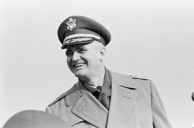Major General William C. Westmoreland at Army-Navy Football Game, Philadelphia