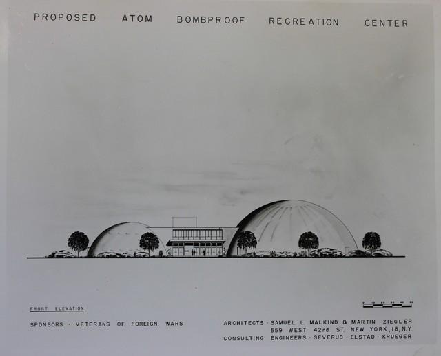 Proposed Atom Bomb-Proof Recreation Center