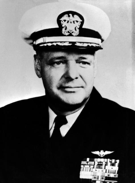 CAPT. George C. Duncan, USN (covered) CO, USS RANGER (CV-61), 1962-1963