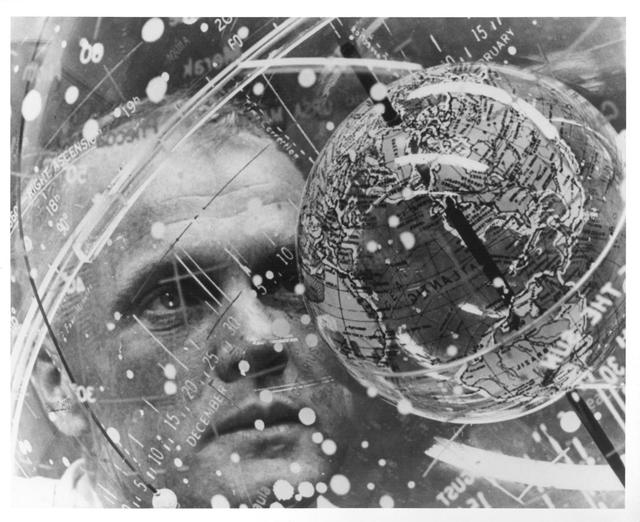 Photograph of Astronaut John H. Glenn, Jr. during Training for His Friendship 7 Mission