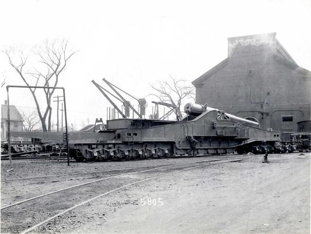 "#5805 10"" Sliding Railway Mount M1919"