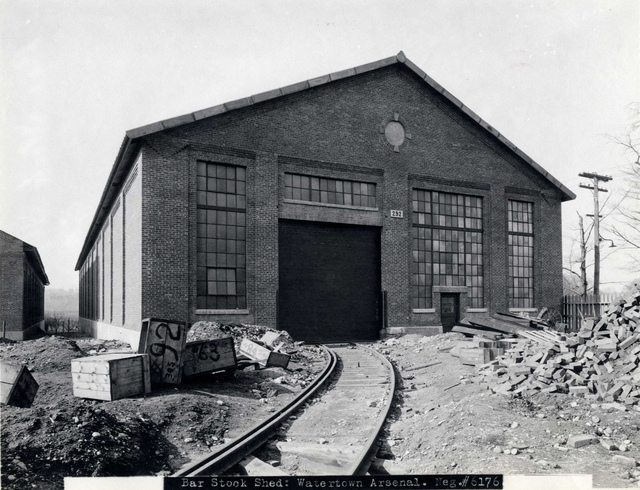#6176 Bar Stock Shed