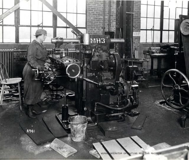 Female Worker, Watertown Arsenal