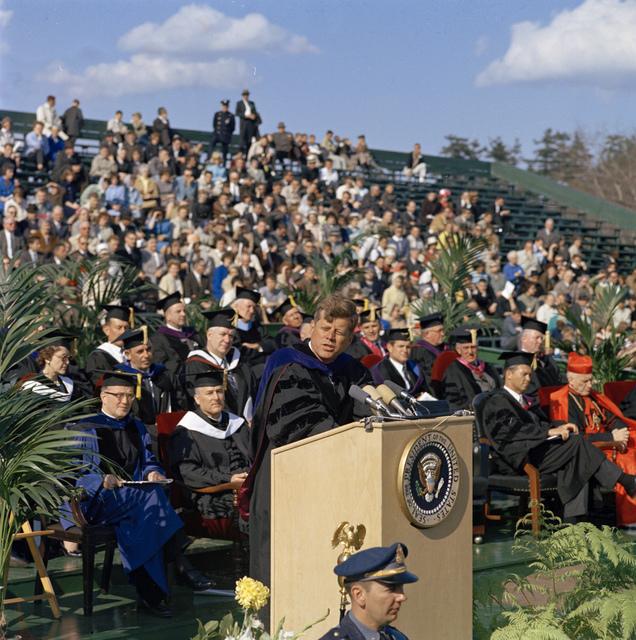 President Kennedy's Address at Boston College Centennial Ceremonies