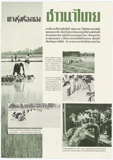 New Vistas for Thai Farmers