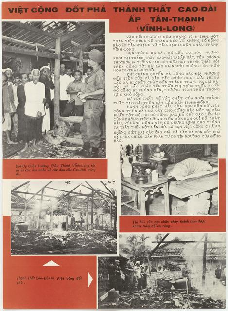 Viet Cong Destroy Cao Dai Temple