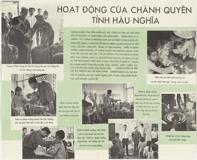 Activities of Provincial Authority in Hau Nghia