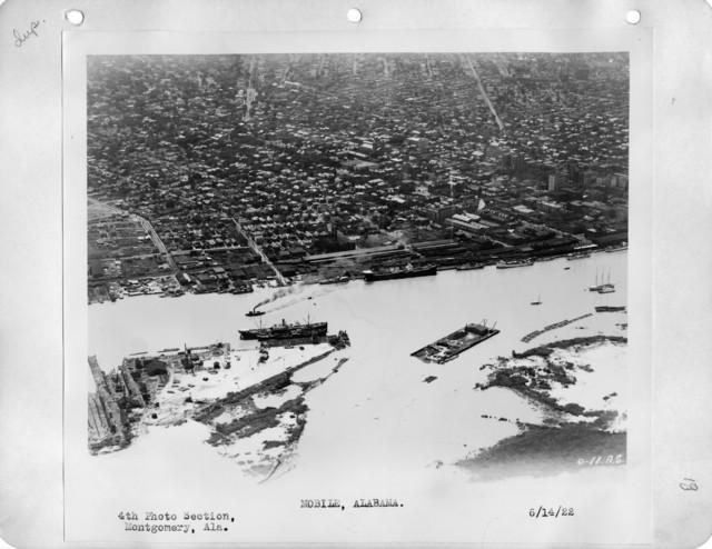 Alabama - Mobile Bay through Mobile