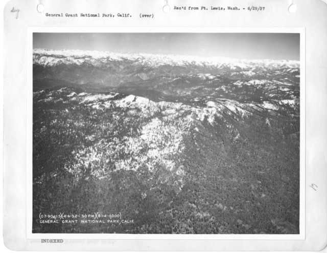 California - Gardenia through General Grant National Park