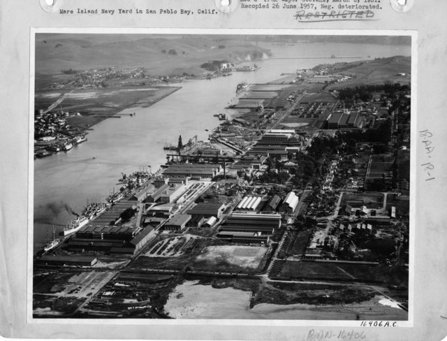 California - Mare Island Navy through Mission Creek