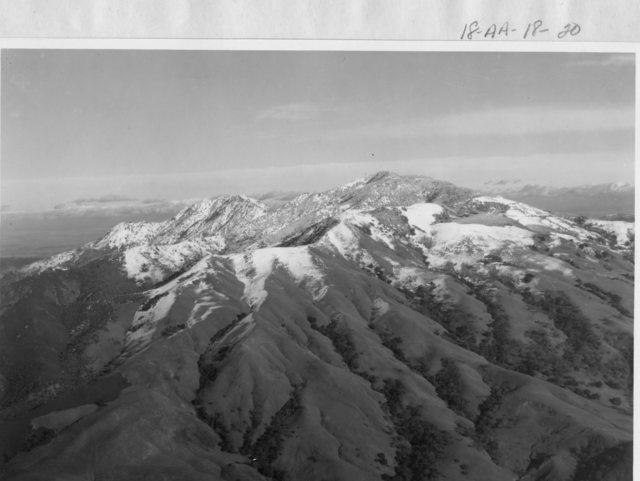 California - Mountain Diablo through Mountain Hamilton