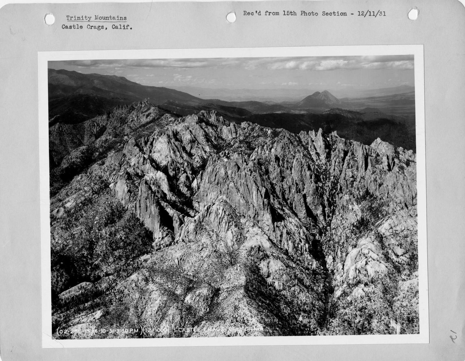 California - Trinity Mountains