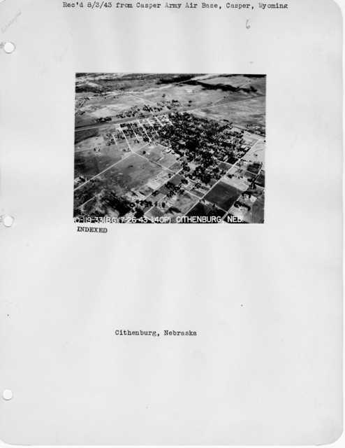 Nebraska - Benedict through Grant