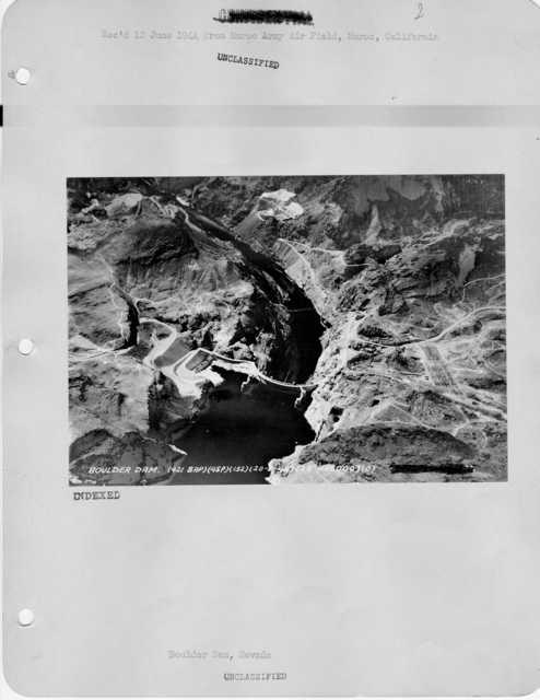 Nevada - Boulder Dam through Boulder City