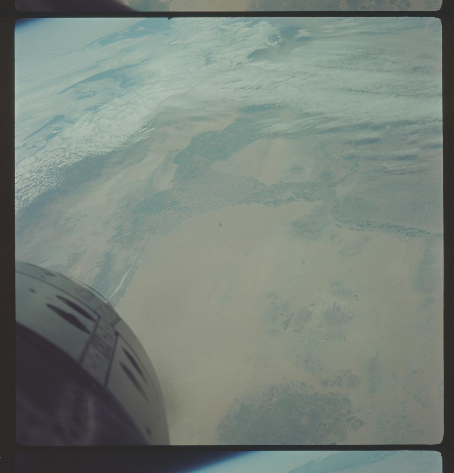 Gemini III Mission Image - Mexico, California and Arizona