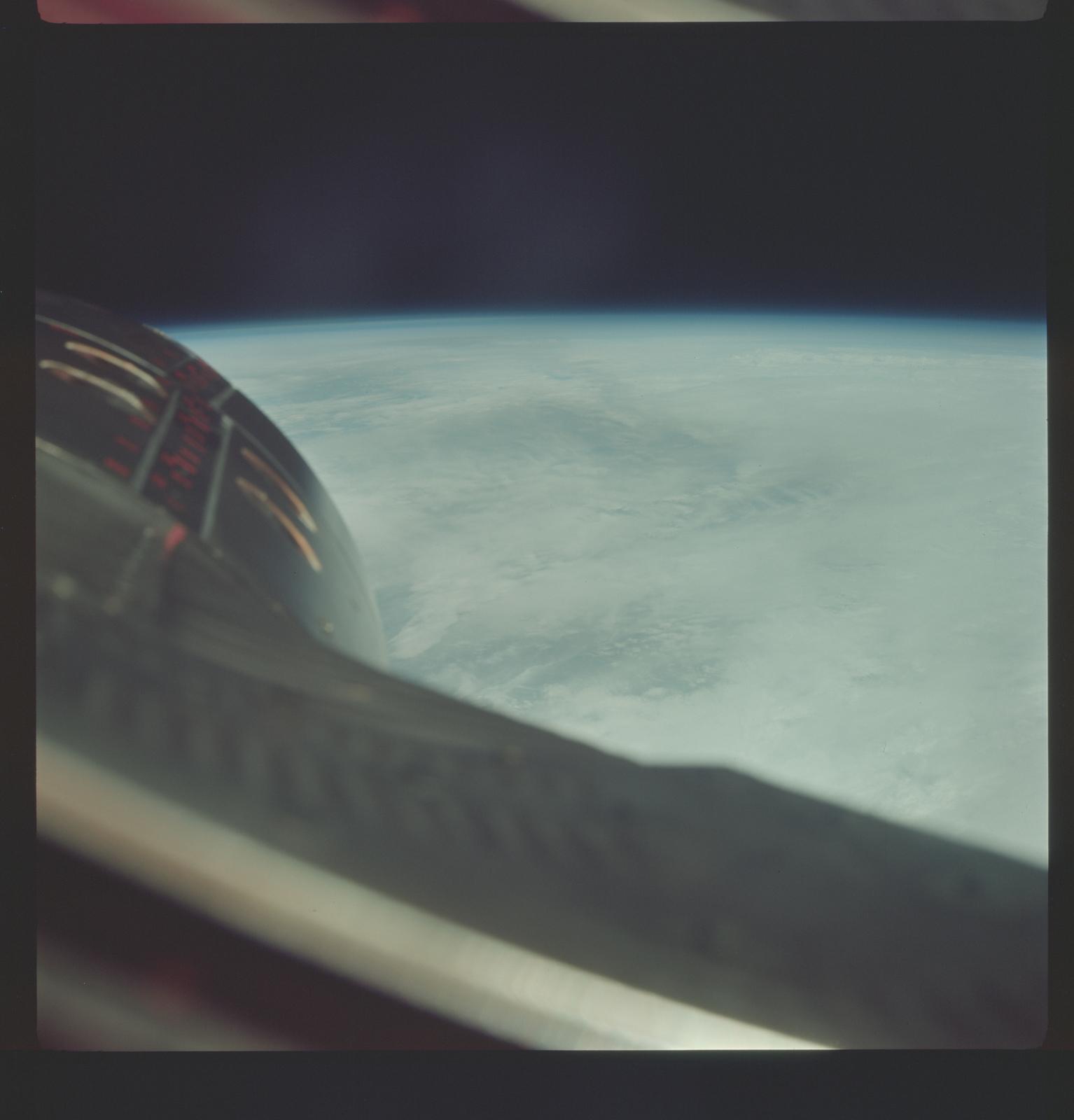 Gemini III Mission Image - southeastern Africa