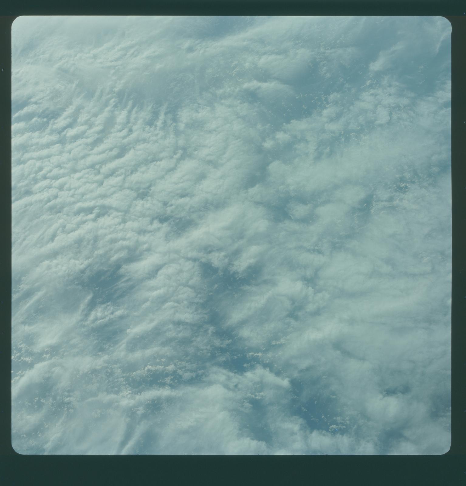 Gemini IV Mission Image - Clouds