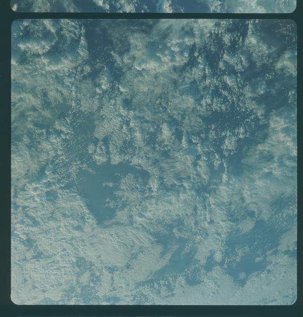 Gemini IV Mission Image - Eastern Pacific Ocean