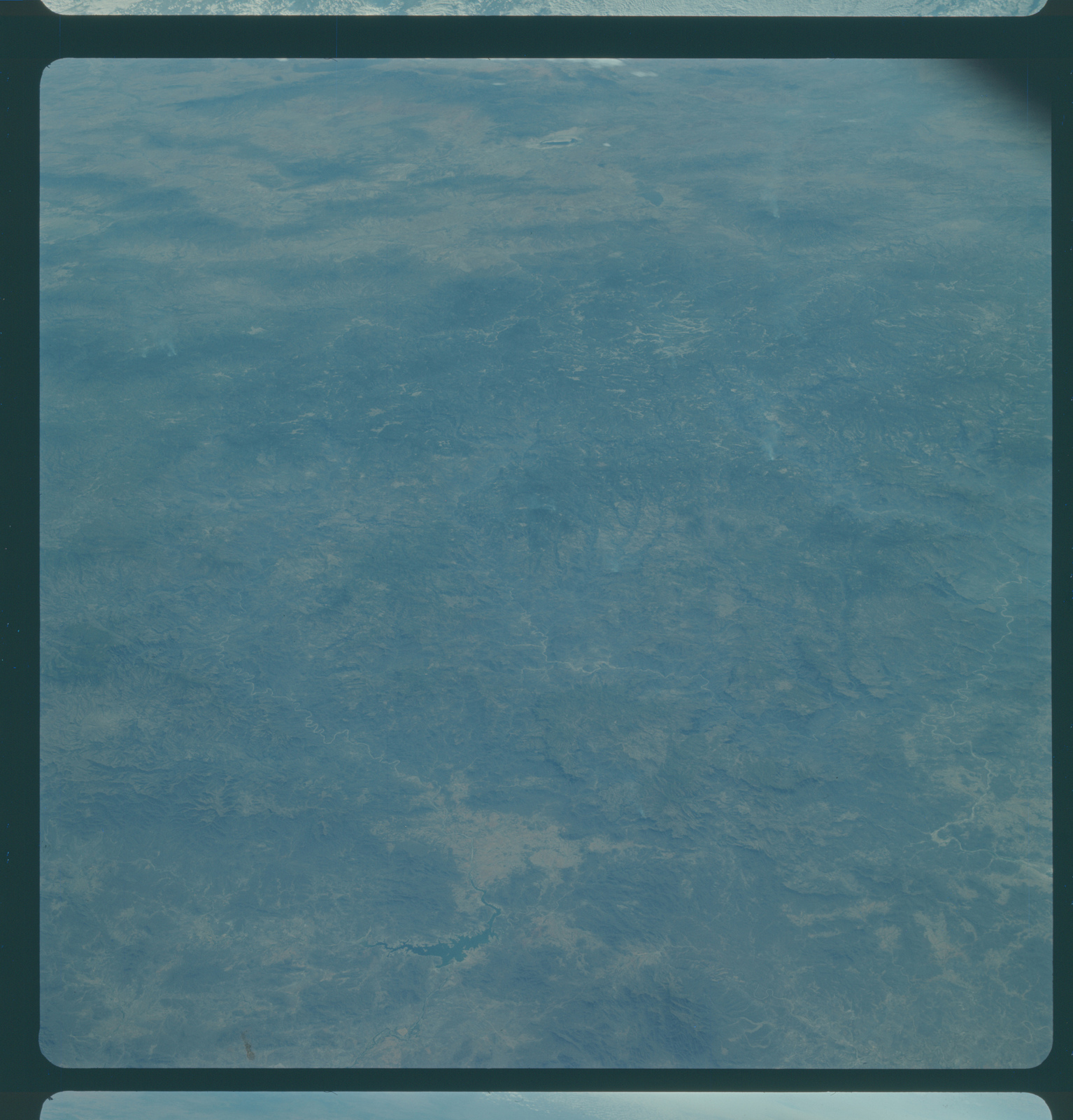 Gemini IV Mission Image - Mexico