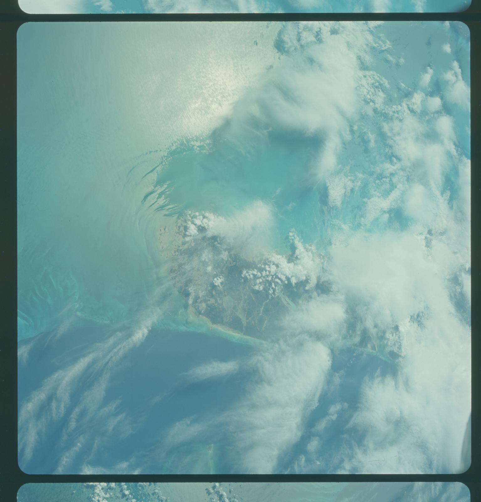 Gemini IV Mission Image -  Andros Island, Bahamas