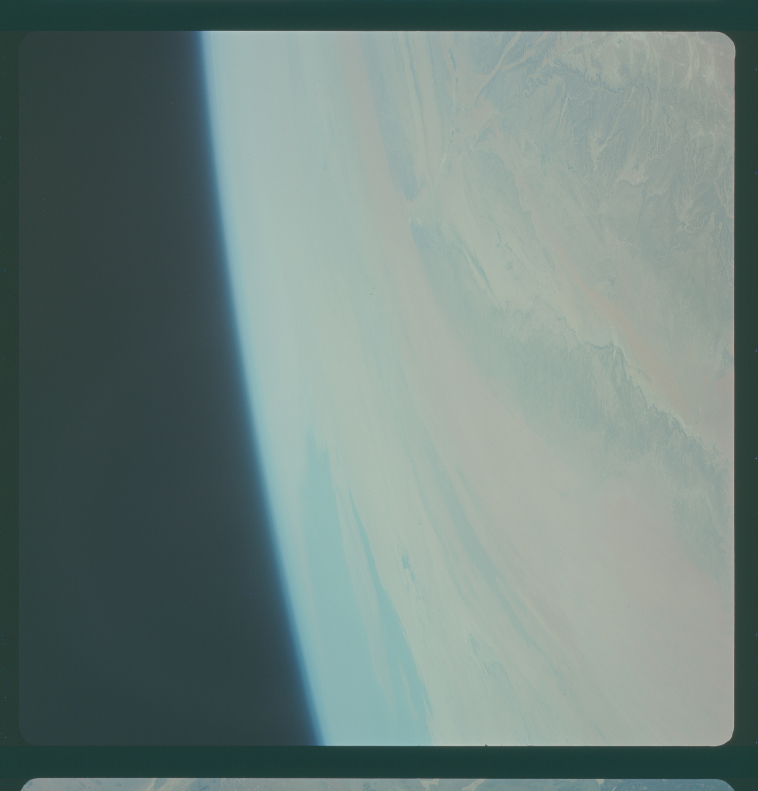 Gemini IV Mission Image -  Central Saudi Arabia