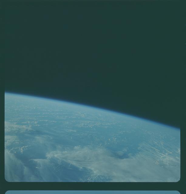 Gemini IV Mission Image -  Pacific Ocean southeast of Canton Island