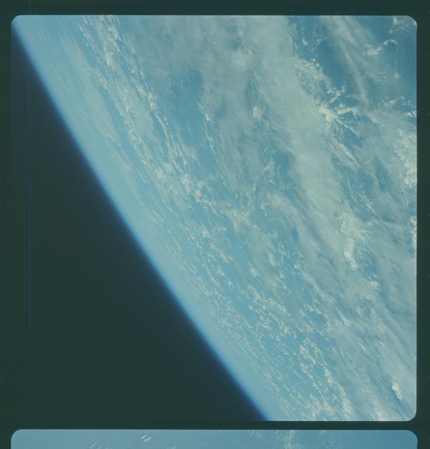 Gemini IV Mission Image -  Pacific Ocean southwest of Hawaii